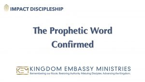 The Prophetic Word Confirmed | II Peter 1:16-21