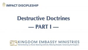 2021-04-10 | Destructive Doctrines Part I | II Peter 2:1-3