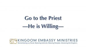 Leviticus 12-15 | Go to the Priest - He is Willing
