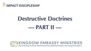2021-04-17 | Destructive Doctrines - Part II | II Peter 2:4-11