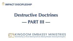 2021-05-01 | Destructive Doctrines Part III | II Peter 2:12-22