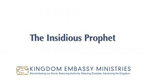 Numbers 22-25 | The Insidious Prophet