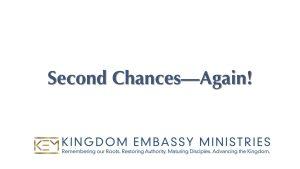 Deuteronomy 33-34 | Second Chances - Again