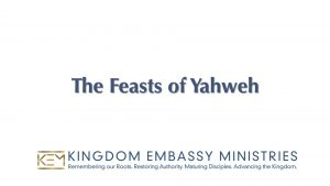 2021-09-24 | Y'shua in the Feasts of the Yahweh